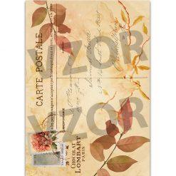 Ryžový papier na decoupage 122