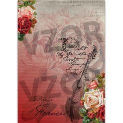 Ryžový papier na decoupage 186