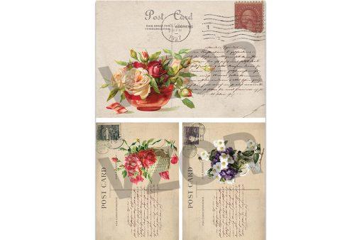 Ryžový papier na decoupage 189