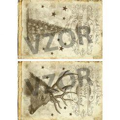 Ryžový papier na decoupage 232