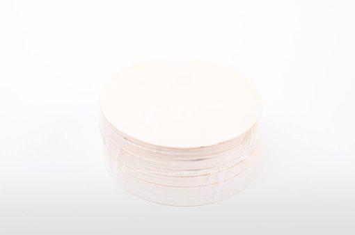 Drevené podložky pod poháre okrúhle