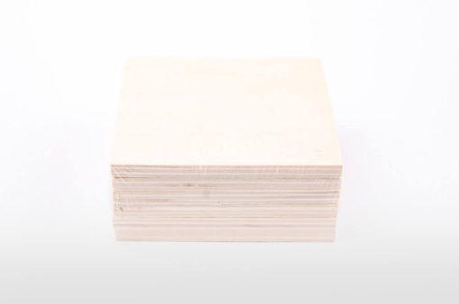 Drevené podložky pod poháre štvorcové