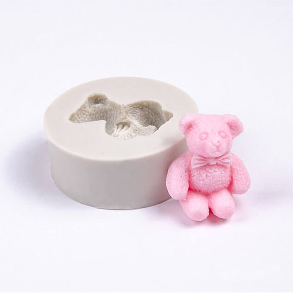 Forma na mydlo medvedík