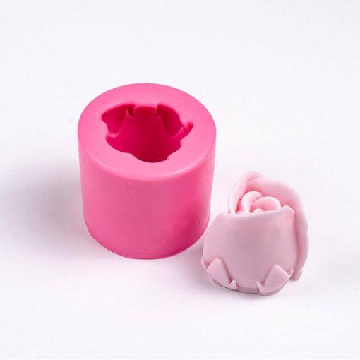 Forma na mydlo ruža puk