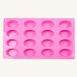 Veľká forma na mydlo ovál 16 ks