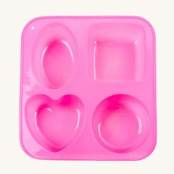 Veľká silikónová forma na mydlo 4 v 1