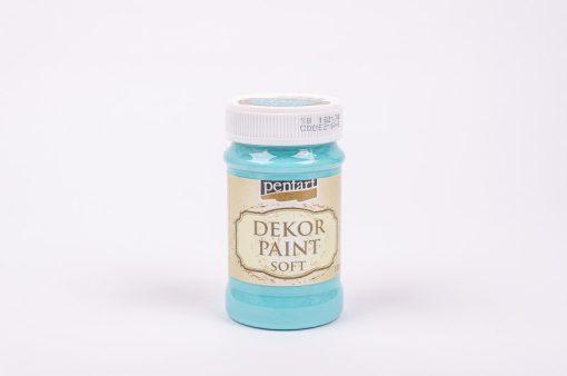 Akrylová farba na dekupáž Decor Paint tyrkysová modrá