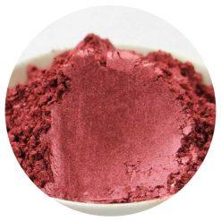 Práškové farbivo do kozmetiky MICA 5 g červená metalická