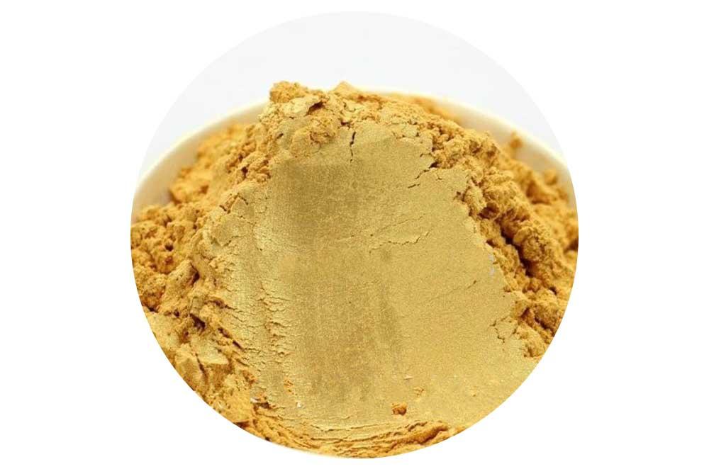 Práškové farbivo do kozmetiky MICA 5 g zlatá