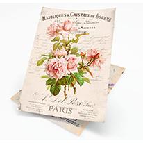 Ryžový papier na decoupage A4