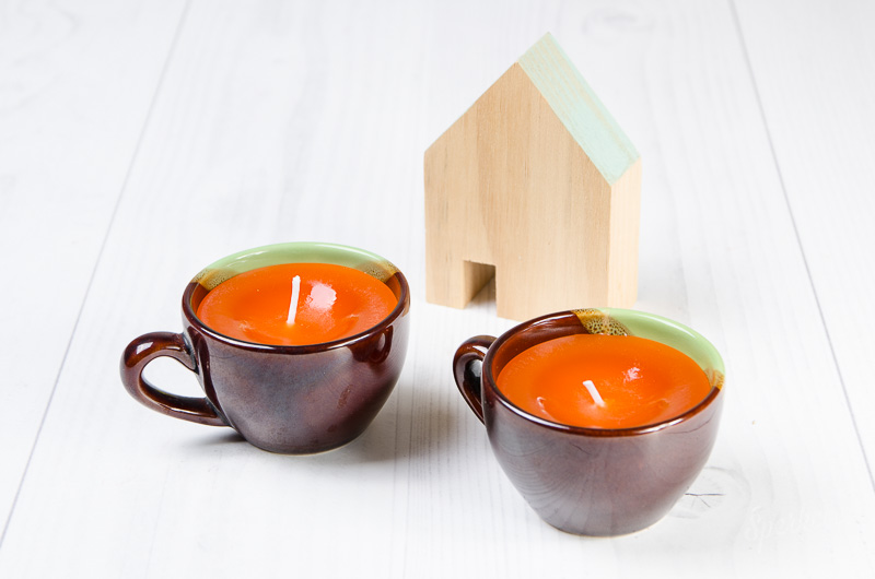 Návod na voňavú sviečku v šálke