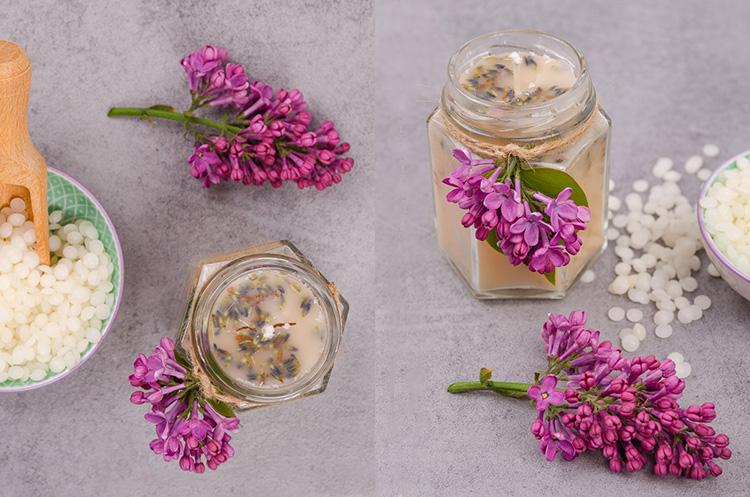 DIY návod na výrobu sviečky z parafínu