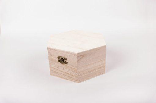 Drevená krabička na decoupage octime veľká