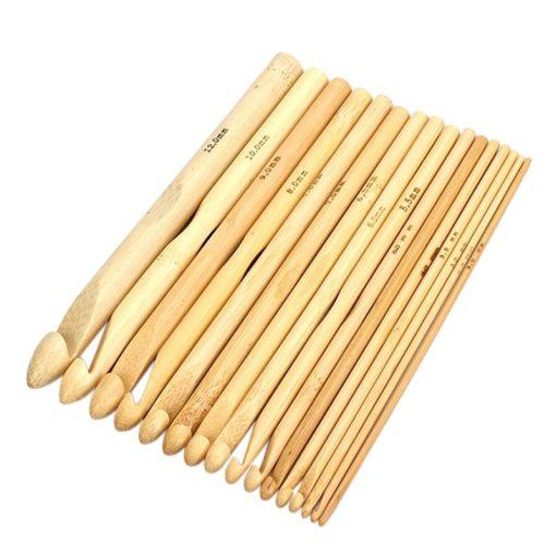 Drevený háčik bambusový 3 mm