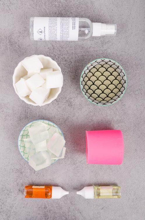 Potreby na výrobu mydla s medom