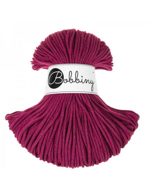 Špagát Bobbiny Junior 3 mm Grape - Winter Edition