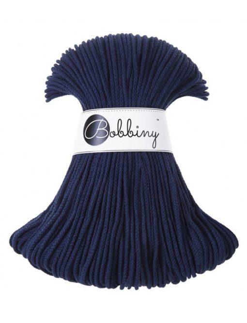 Špagát Bobbiny Junior 3 mm Navy Blue