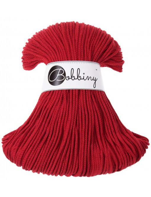 Špagát Bobbiny Junior 3 mm Red