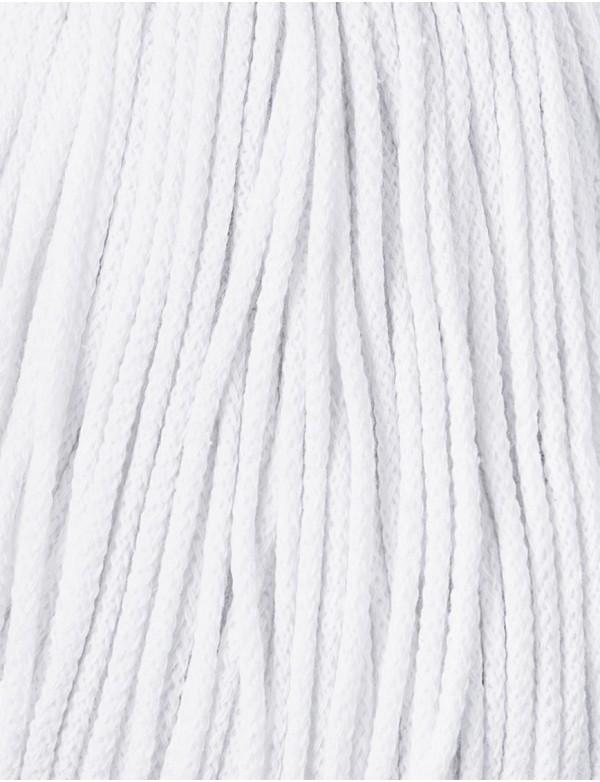 Špagát Bobbiny Junior 3 mm White