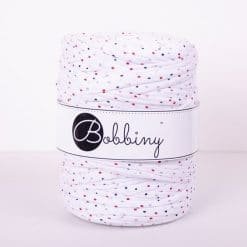 Tričkovlna Bobbiny White with dots