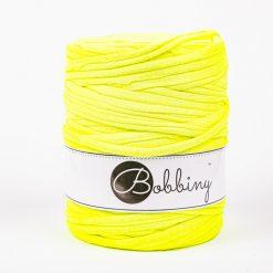 Tričkovlna Bobbiny Yellow fluo