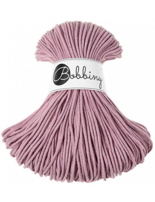 Špagát Bobbiny Junior 3 mm Dusty Pink