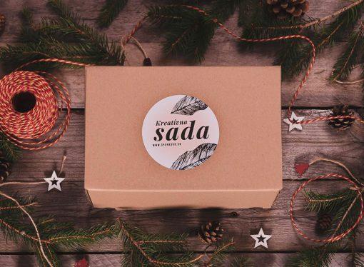 Vianočná darčeková kreatívna sada