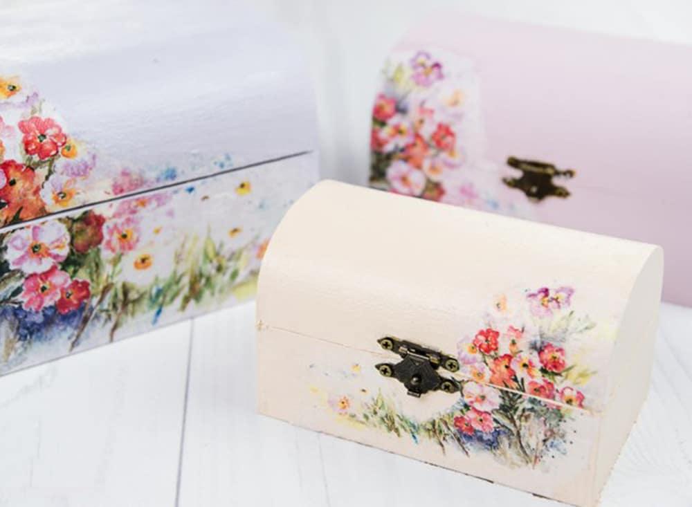 Kreatívna sada dekupáž s ryžovým papierom