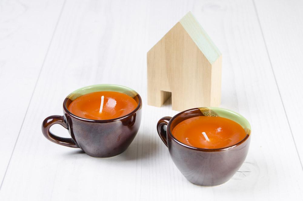 materiál na domácu výrobu sviečok