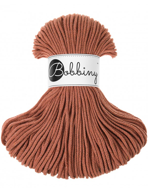Špagát Bobbiny Junior 3 mm Terracotta