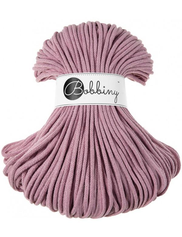 Špagát Bobbiny Premium 5 mm Dusty pink