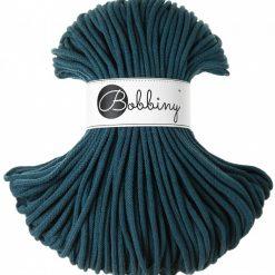 Špagát Bobbiny Premium 5 mm Peacock blue