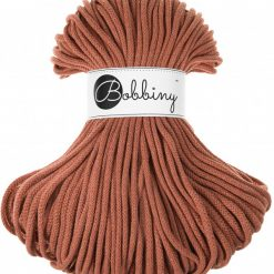 Špagát Bobbiny Premium 5 mm Terracotta