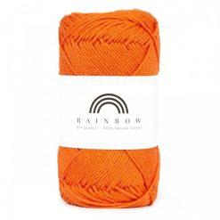 Vlna na háčkovanie Rainbow Burnt Orange 066