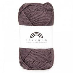 Vlna na háčkovanie Rainbow Greyish Purple 013
