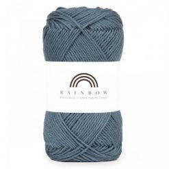 Vlna na háčkovanie Rainbow Jeans Blue 029