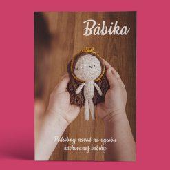 PDF návod na háčkovanú bábiku - titulka