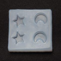 Silikónová forma na živicové šperky hviezdička