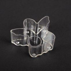 Plastová forma na sviečku anjelik