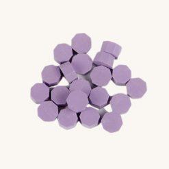 Pečatný vosk granulát fialová svetlá