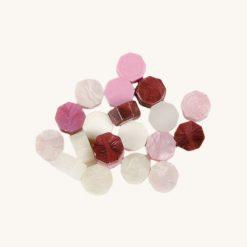 Pečatný vosk granulát mix ružový