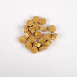 Pečatný vosk granulát zlatá svetlá