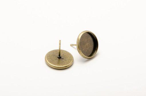 Napichovacie náušnice bronzové 12 mm