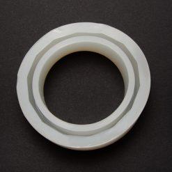 Silikónová forma na zalievané živicové šperky náramok ozdobný