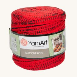 Tričkovlna Yarnart vzorovaná červená