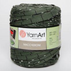 Tričkovlna Yarnart vzorovaná zelená