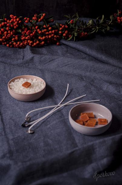 Návod na výrobu eukalyptovej sviečky z parafínu
