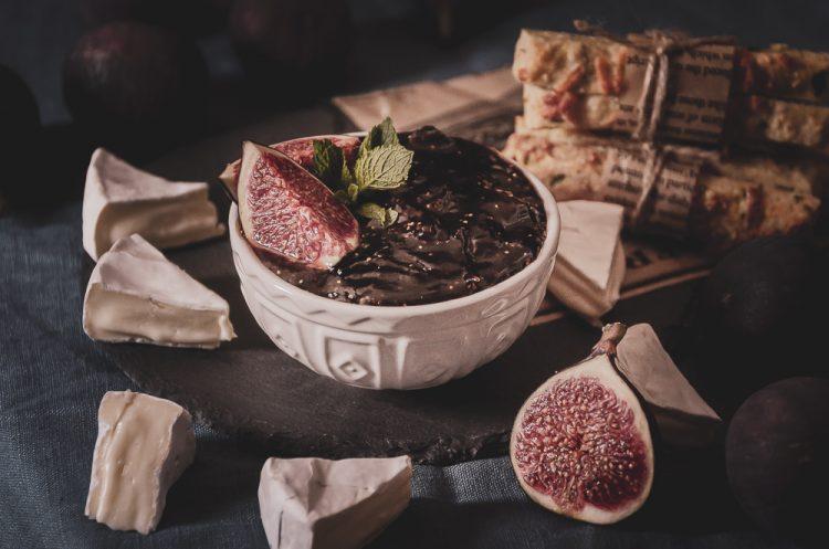 Figové chutney so slivkami a chilli, recept