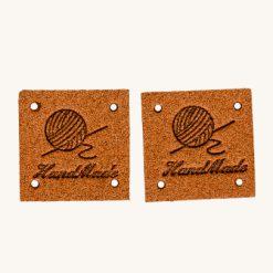 Kožený štítok Handmade variant 5