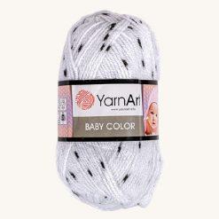 Vlna YarnArt Baby color biela